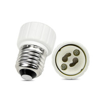 Wholesale Es Led Lights - Fedex FREE shipping ES to GU10 adaptor LED Light Adapter E27 to GU10 adaptor holder adapter GU10 to E27 converter socket E27-GU10 GU10-E27