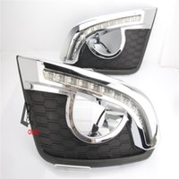 Wholesale Led Daytime Captiva - car styling LED Daytime Running Light For Chevrolet Captiva 2014 -2015