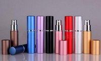 Factory Price 5ml Refillable Perfume Spray Bottle,Alumina and Glass Perfume Atomizer Bottle Spray 100Pcs lot By DHL Free Shipping