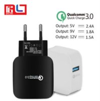 Wholesale Travel Charger Iphone Box - Qualcomm Quick Charge 3.0 Fast Charger USB Travel Charger For Samsung S6 S7 Xiaomi 5 Huawei with the Retail Box