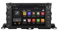 Wholesale Stereo Toyota Highlander - Android 5.1 Car DVD GPS Navigation for Toyota Highlander 2014 2015 with Radio BT USB AUX Audio Video Stereo