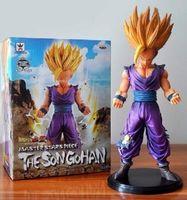 Wholesale Dragons Figurines - Anime Dragon Ball Z Action Figures Master Stars Piece The Son Gohan Super Saiyan dragonball Z Figurine PVC ChildrenToy