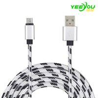 Wholesale Iphone Charging Cable Color - Micro USB Cable charging Data Charger Sync fast charging for samsung galaxy S7 edge S8 plus huawei xiaomi Android