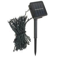 Wholesale Restaurant Beautiful - Wholesale- High Quality 8M 60 LED Solar Power String Fairy Light Beautiful Outdoor Party Wedding Xmas Restaurants or Garden Decorate