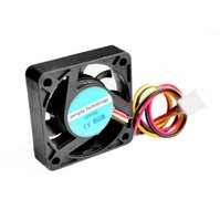 Wholesale Low Cpu - Wholesale-3 Pin 40mm Computer CPU Cooler Cooling Fan PC 4cm 40x40x10mm DC 12V for 3D Printer