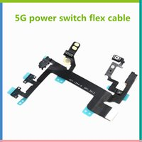 Interrupteur flex Prix-pour iPhone 5G Power Switch Contector On Off bouton de volume Flex Cable Ruban Repair Parts Original