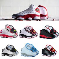 Wholesale Spring Come - High Quality 13 13s History of Flight White Red Basketball Shoes Men 13s History of Flight Sneakers Come With