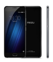 Meizu U20 Double Sim 16gb Android Smartphone Mobile 4g ​​Lt 3g Cdma Débloqué Noir Eight Digital Fingerprint 5 Inch Silver Hot Screen Material