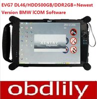 Wholesale tablet korea - Hot selling EVG7 DL46 HDD500GB DDR2GB Diagnostic Controller Tablet PC (Can works withBMW ICOM)