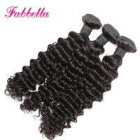Wholesale Affordable Malaysian Curly Hair - 2016 Affordable Quality Virgin Hair Cheap Virgin Malaysian Hair Deep Curly Human Hair Bundles Dyeable Best Quality Hair Weave 8A