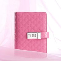 Wholesale A6 Fashion Business Style Vintage Diary Book Lockable Notebook Hardcover Lockable Suitable for Gifts Notepad TPN011
