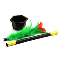 Wholesale cloth toys for kids for sale - Group buy Magic Wand To Flower Magic Trick Easy Magic Tricks Toys For Adults Kids Show Prop Toys For Boys Fun For Children