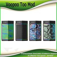 Original VOOPOO TOO 180W 80W TC Box Mod Compatible avec Simple et Double 18650 Batterie avec GENE Chip Ecig Vape Mods 100% Authentique