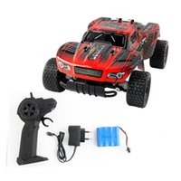 Wholesale rc electric buggy - Jule RC Car Electric Toys Remote Control Newest Boys RC Car 2.4G Shaft Drive Truck Speed 20KM Control Remoto Drift Car 1:18 battery +NB