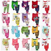Wholesale Olive Varieties - New arrival 2016 baby pajamas Kids pjjama boys suits cheapest price 100% cotton 2pcs=1set=1pcs*T-shirt +1pcs*Pant Variety Optional 2Y-4Y