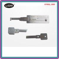 lishi hu66 pick toptan satış-LISHI VW HU66 (1) Dekoder Seçtikleri VW çilingir aracı kilit seçim aracı otomatik seçim için set anahtar okuyucu Ücretsiz kargo