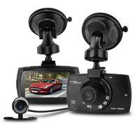 Wholesale Dual Dvr External - Dual Lens Car DVR 2.7Inch 1080P G30B 140 Degree External Camera Video Recorder Dash Cam IR Night Vision