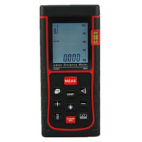 Display LCD All'ingrosso-SW-E50 Digital Handheld Laser Range Finder 50M Laser misuratore di distanza Digital Laser Range Finder Tape Measure