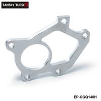 zwillings-turbolader großhandel-TANSKY -NEUER Universal-Turboladerflansch für SUBARU STI Twin Scroll VF36 VF37-Abflussrohr / Turbinenauslass EP-CGQ140H