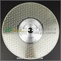 "Wholesale Diamond Grinding Cutting Discs - 9"" 230mm Electroplated Diamond cutting & grinding discs for marble & granite with 22.23 Flange, diamond blade"