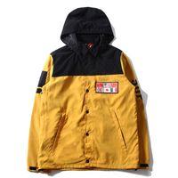 Wholesale X Men Jacket - 14SS N F X S Map Jacket Men Women Winter Coats Fashion Outerwear Top Quality Four Colors S~XL HFJK038