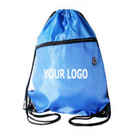 Wholesale Promotional Bags Logo - Can print your Logo High quality 210D durable polyester drawstring bag good promotional gift to print your logo.