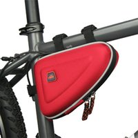 Wholesale Bicycle Triangle Frame Bag - 3 Colors Waterproof CBR 1.5L Outdoor Triangle Cycling Bicycle Front Tube Frame Bag Mountain Bike Pouch Freeshipping