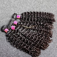Queen Hair Products High Quality Peruvian Curly Hair Weave Cheap Doudle Weft Curly Human Hair Extensions Livraison gratuite