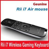 ingrosso htpc tastiera remota-Mini Fly Air Mouse e tastiera wireless Combo Rii Mini i7 2.4G Air Mouse tastiera remota per HTPC Android TV Box PC portatile