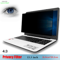Anti Privacy Filter Screen Protector Computer Office Computer portatile Monitor 13.1 13.3 14.1 14 15 15.3 pollici Senza colla materiale PET 13.3 pollici