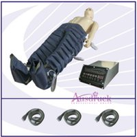 Wholesale Lymphatic Drainage Equipment - Eu tax free 24 air bags Lymph lymphatic drainage legs pressotherapy detoxin therapy foot spa tool Cellulite reducing equipment beauty