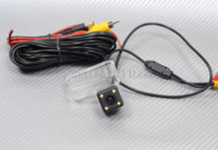 Wholesale Car Reversing Camera Kit Reviews - For Toyota Corolla 2014 Reverse Backup Review Reversing Parking Kit with Night Vision CCD Car Rear View Camera
