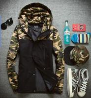 Wholesale Cheap Military Coats - Winter jacket men 2016 famous brand outdoor fashion men jacket military style hoodie men coat cheap WS-002