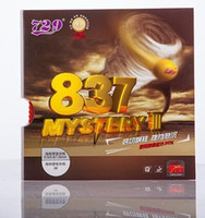 ingrosso la migliore gomma 729-729 Friends Table Tennis Rubber 837 Mystery III Ping Pong in gomma con spugna -BEST