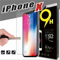 Wholesale Screen Protectors Iphone Retail Boxed - For iPhone X 8 7 6 6s 5s 5c plus Samsung S5 S6 S7 Premium quality mobile phone tempered Glass Screen Protector Film with retail box