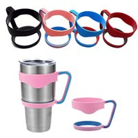 Wholesale 2016 Hot For YETI Rambler Handle Tumbler car cup Handle for OZ stainless steel beer cups Holder by DHL