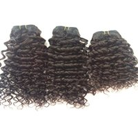 Wholesale Deep Curl Peruvian Hair - Brazilian Hair Unprocessed Hair Weft Peruvian Malaysian Indian Cambodian Hair Extension deep curl bundles Dyeable 8A cheap human hair