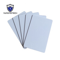 10pcs lot 13.56mhz iso 14443a plastic blank white rfid MIFARE Classic® 1K hotel key access control card