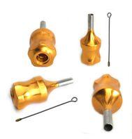Wholesale Steel Tattoo Grips - 30 mm Cartridge Tattoo Needle Metal Grip Comfortable Hold 66-0100-