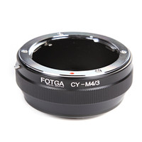 Wholesale Cy C - CONTAX C Y CY Lens To Micro 4 3 M4 3 Adapter For EP1 EP2 EPL1 GF1 GF2 G1 G2