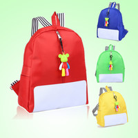 Wholesale Kids School Cloths - Free Shipping Fashion Children Boy Girl Kindergarten Cartoon Shoulder bag SchoolBag School Backpack Kids Toys Bag Oxford Cloth