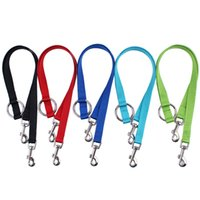 Wholesale Harness Pull - Double headed pet traction rope pull two dogs at the same time high quality dog harness Free Shipping WA1278