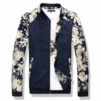 Wholesale Mens Jacket Trend - Wholesale- 2016 New Fashion Brand Jacket Men Trend Splice Korean Slim Fit Mens Designer Clothes Cotoon Men Casual Jacket Slim