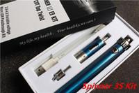 Wholesale Ego Pt Batteries - E Cigarette Starter Kit Vision Spinner 3S Kit, Spinner IIIS PT Battery 1600mAh VV Battery Vapor Atomizer VS Evod Mega Kit Ego One