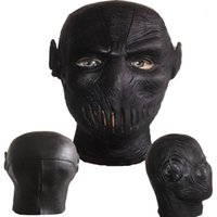 Wholesale free people leather for sale - Group buy HOT Movie COS The Flash Season Zoom Flash Black Flash Cosplay Costume Accessories Mask Black Leather
