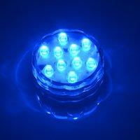 Wholesale-10 LED Multicolor Submersible Wasserdicht-Party Tee Floralytes Vase Basis helle helle Lampe Blub Remote Hot