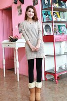 Wholesale Wearing Thin Pantyhose - winter with cashmere lady wear leggings napped panty stockings was thin With velvet skinny slim warm foot pantyhose