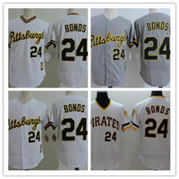 7ed800e0f ... cheap Mens Pittsburgh Pirates 24 Barry Bonds White Pullover Throwback  Stitched MLB Jersey By Mitchell Ness ...