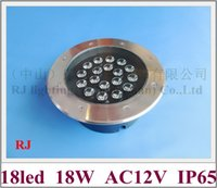 Wholesale high power LED buried light W outdoor LED underground light lamp stainless steel PC W AC12V IP65
