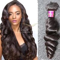 doğal saç uzatma fiyatları toptan satış-Toptan Ucuz Fiyat Hint Saç Demetleri Sınıf 8A Hint Saç Uzantıları 10 adet / grup Doğal Renk İnsan Saç Dokuma